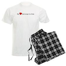 My Heart Belongs To Noe Pajamas
