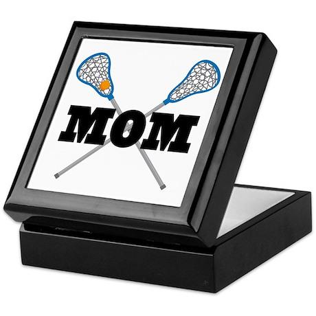 Lacrosse Mom Keepsake Box