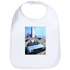 Delorean DMC 12 Gull Wings Up Twin Towers WTC Bib