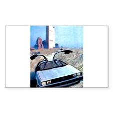 Delorean DMC 12 Gull Wings Up Twin Towers WTC Stic