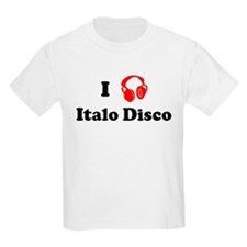 Italo Disco music Kids T-Shirt
