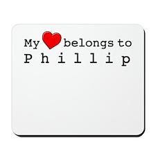 My Heart Belongs To Phillip Mousepad