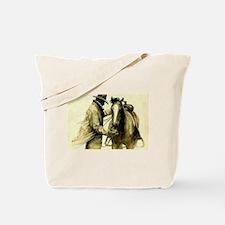Saddle Up Tote Bag
