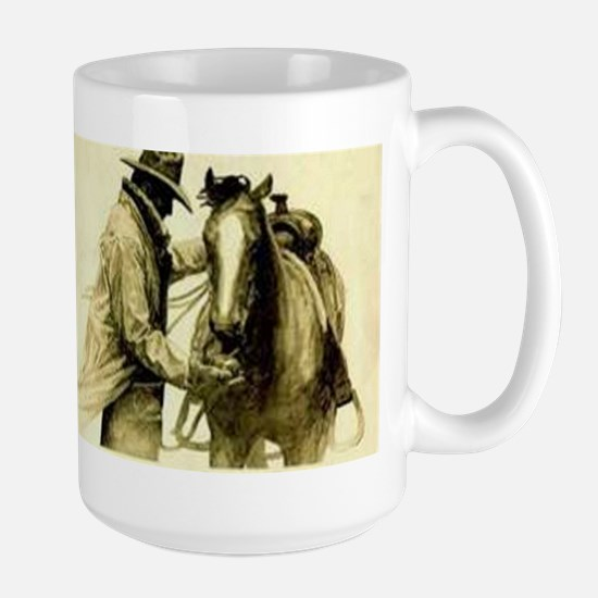 Saddle Up Large Mug