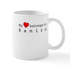 My Heart Belongs To Ramiro Mug