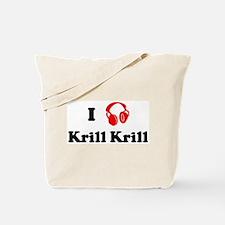 Krill Krill music Tote Bag