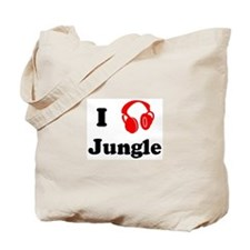 Jungle music Tote Bag