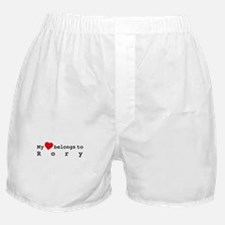 My Heart Belongs To Rory Boxer Shorts