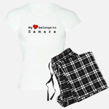 My Heart Belongs To Samara Pajamas