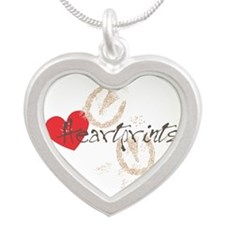 heartprints Silver Heart Necklace