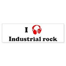 Industrial rock music Bumper Bumper Sticker