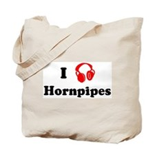 Hornpipes music Tote Bag