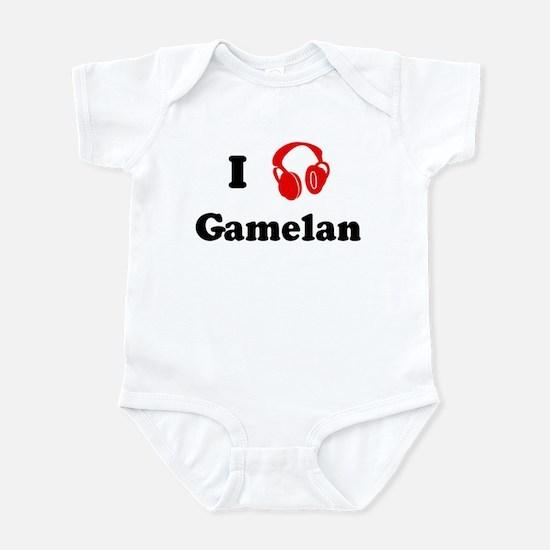 Gamelan music Infant Bodysuit