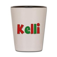 Kelli Christmas Shot Glass