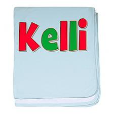 Kelli Christmas baby blanket