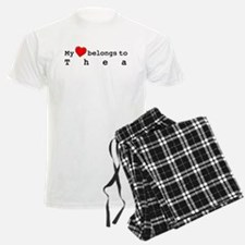 My Heart Belongs To Thea Pajamas