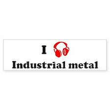 Industrial metal music Bumper Bumper Sticker