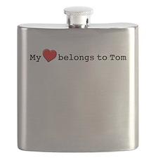 My Heart Belongs To Tom Flask