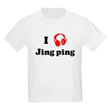 Jing ping music Kids T-Shirt