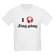 Jing ping music Kids T-Shirt