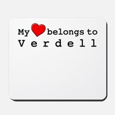 My Heart Belongs To Verdell Mousepad