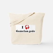 Gamelan gede music Tote Bag