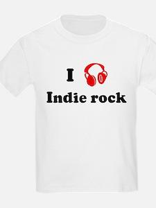 Indie rock music Kids T-Shirt
