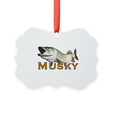 Monster Musky Ornament