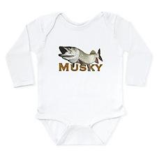 Monster Musky Long Sleeve Infant Bodysuit