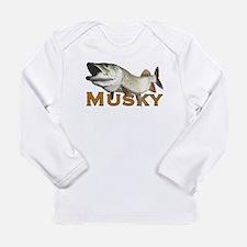 Monster Musky Long Sleeve Infant T-Shirt