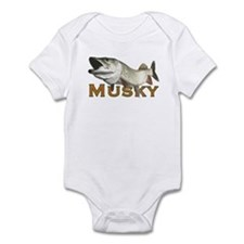 Monster Musky Infant Bodysuit