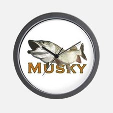 Monster Musky Wall Clock