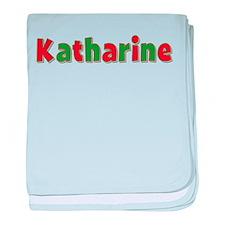 Katharine Christmas baby blanket