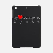 My Heart Belongs To Wyatt iPad Mini Case
