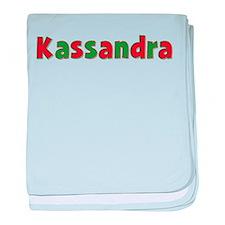 Kassandra Christmas baby blanket