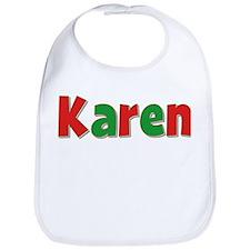 Karen Christmas Bib