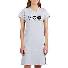 Acupuncture Women's Nightshirt