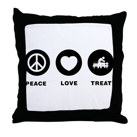 Acupuncture Throw Pillow