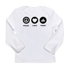 Acupuncture Long Sleeve Infant T-Shirt