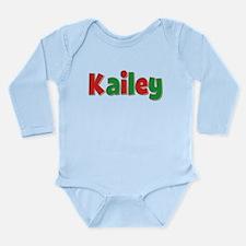 Kailey Christmas Long Sleeve Infant Bodysuit