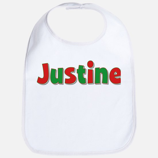 Justine Christmas Bib