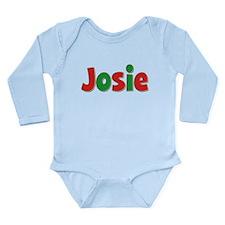 Josie Christmas Long Sleeve Infant Bodysuit