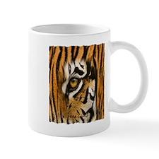 tiger eye art illustration Mug