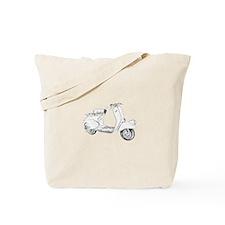 1949 Piaggio Vespa scooter Tote Bag