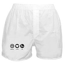 K9 Police Officer Boxer Shorts