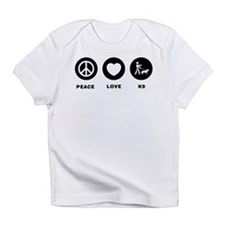 K9 Police Officer Infant T-Shirt