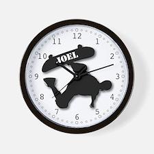 JOEL - Skateboard Wall Clock