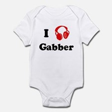 Gabber music Infant Bodysuit