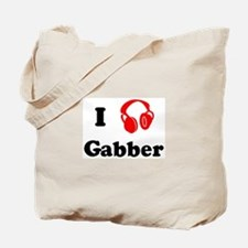Gabber music Tote Bag