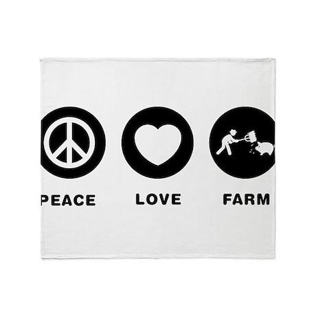 Farmer Throw Blanket